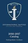 IBCS Catalog 2016-2017